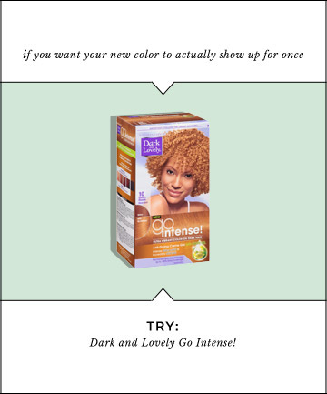 Galerry coloring your hair at home with professional color