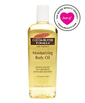 Best Body Oil No. 8:  Palmer's Cocoa Butter Formula Moisturizing Body Oil, $5.95