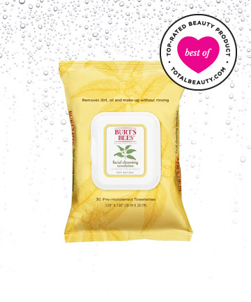 Best Face Wipe No. 5: Burt's Bees Facial Towelettes with White Tea Extract, $6