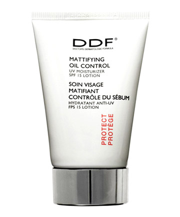 Worst Sunscreen No. 1: DDF Mattifying Oil Control Moisturizer With Sunscreen Broad Spectrum SPF 15, $44