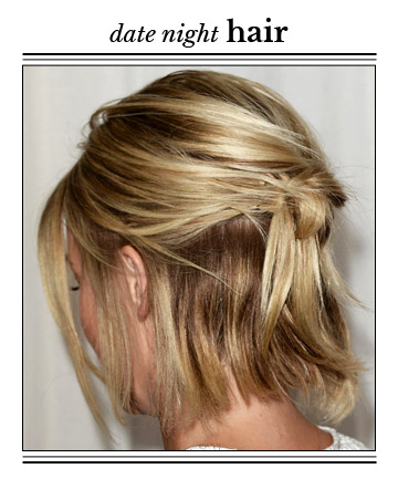 Hairstyles For Short Hair Date Night : ... Style for Short Hair, 14 Prettiest Date-Night Hairstyles - (Page 10