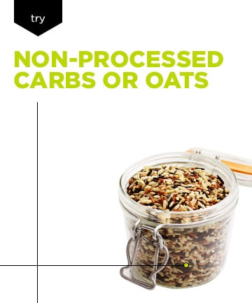 Healthy Skin Diet: Switch to Non-Processed Carbs or Oats
