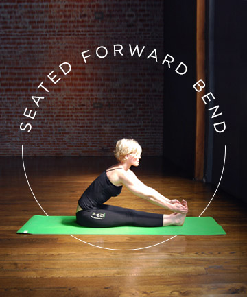Yoga Pose No. 5: Seated Forward Bend