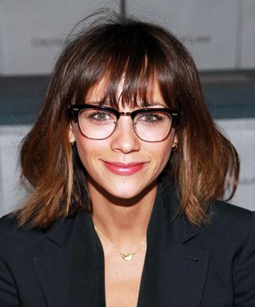 no 20 rashida jones bangs with glasses the 24 most