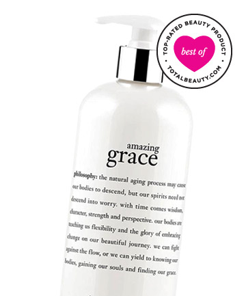Best Body-Transforming Product No. 9: Philosophy Amazing Grace Perfumed Firming Body Emulsion, $37