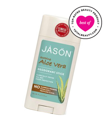 Best Deodorant No. 9: Jasön Soothing Aloe Vera Deodorant Stick, $7.49