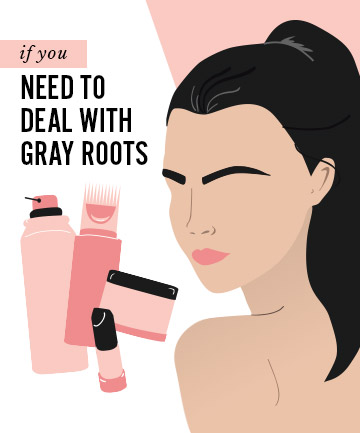 If You Have More Grays Than Colored Hair, Gray Hair Hacks: 5 ...