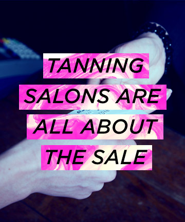 Tanning Salons 'Push to Sell'