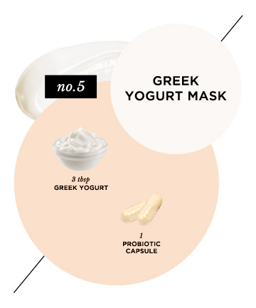 Acne-Eliminating Greek Yogurt Face Mask