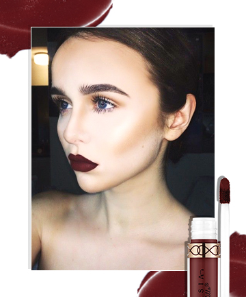 Dark Lip Look No. 4: Matte Maroon