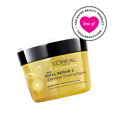 Best Conditioner No. 17: L'Oréal Paris Advanced Haircare - Total Repair 5 Damage Erasing Balm, $