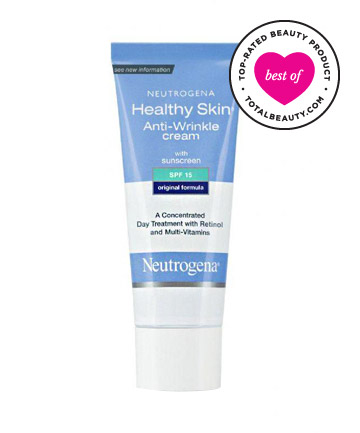 The Best: No. 16: Neutrogena Healthy Skin Anti-Wrinkle Cream With Sunscreen SPF 15, $14.99