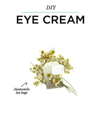 DIY Eye Cream: Potato Slices or Chamomile Tea Bags
