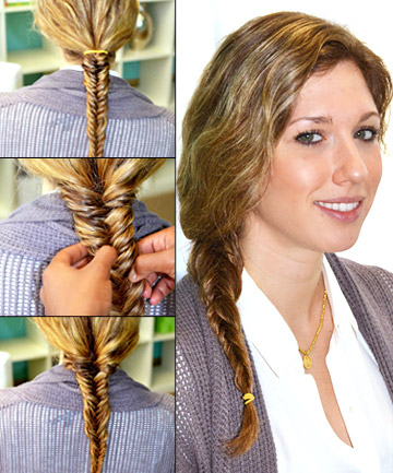 How to Do a Fishtail Braid, Step 5: Finish Your Look