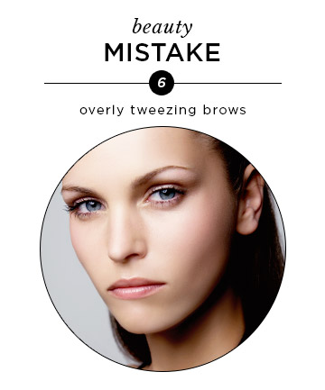 Over-Tweezed Brows