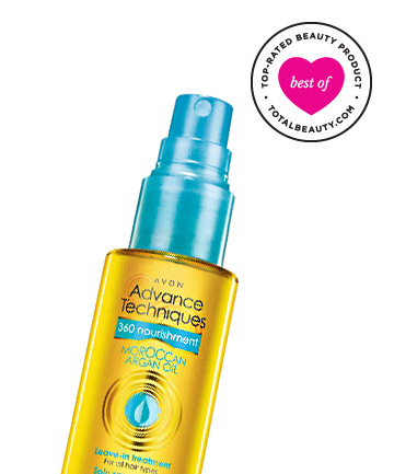 Avon Advance Techniques 360 Nourishing Moroccan Argan Oil Leave-in Treatment, $10