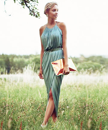 Grecian Goddess, 11 Gorgeous Dresses to Wear to a Summer Wedding ...