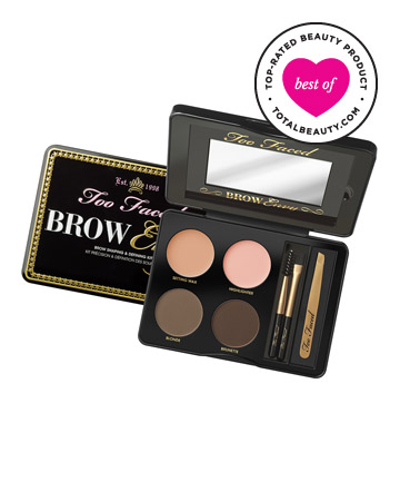 Best Brow Product No. 10: Too Faced Brow Envy Brow Shaping & Defining Kit, $39