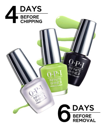 OPI Infinite Shine Gel Effects Lacquer System, $12.50, Road Test ...