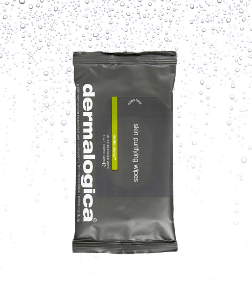 No. 3: Dermalogica mediBac Clearing Skin Purifying Wipes, $19