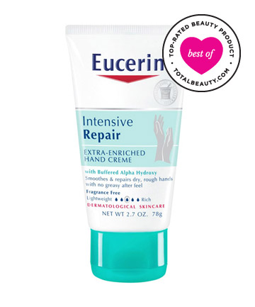 Best Hand Cream No. 10: Eucerin Intensive Repair Extra-Enriched Hand Creme, $5.99