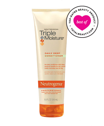The Best: No. 15: Neutrogena Triple Moisture Daily Deep Conditioner, $5.99