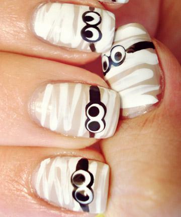 19 diy halloween nail art ideas prinsesfo Images
