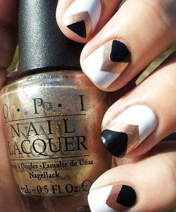 Art Deco Tips Ditch The French Mani And Try These 13 Wedding Nail