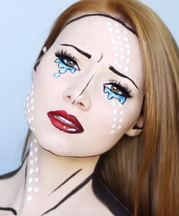pop art makeup 16 lastminute halloween costumes that