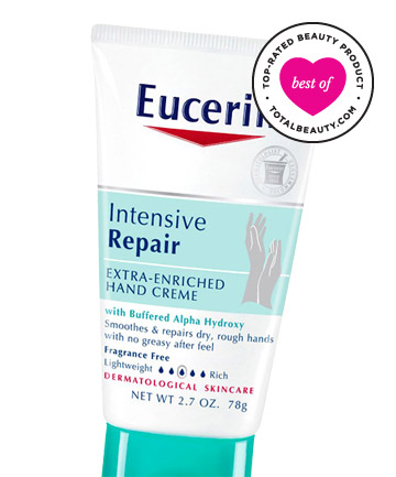 Best Body-Transforming Product No. 8: Eucerin Intensive Repair Extra-Enriched Hand Creme, $5.99