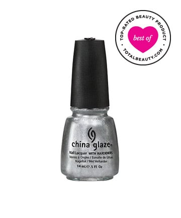 Best Drugstore Nail Polish No. 6: China Glaze Nail Lacquer with Hardeners, $7.50