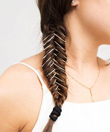 Bobby Pin Hairstyles: Bobby Pin Braid