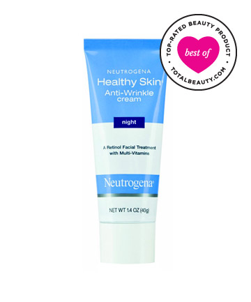 No. 12:  Neutrogena Healthy Skin Anti-Wrinkle Cream Night , $12.99