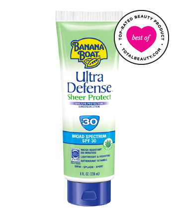 THE BEST NO. 10: BANANA BOAT ULTRA SUNBLOCK LOTION SPF 30, $14.99