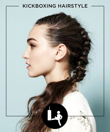 youtube short hairstyles : Kickboxing , 11 Fuss-Free Hairstyles for Every Workout - (Page 7)