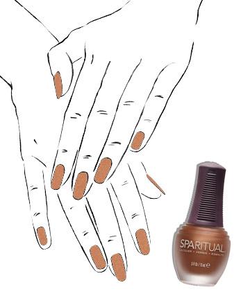 Skin tone: dark