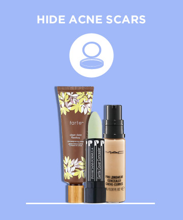 Hide Acne Scars While They Fade
