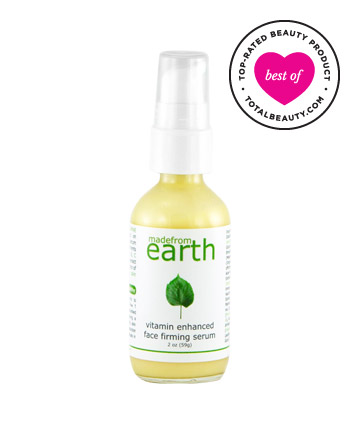 Best Anti-Aging Product No. 3: Made from Earth Vitamin Enhanced Face Firming Serum, $44.99