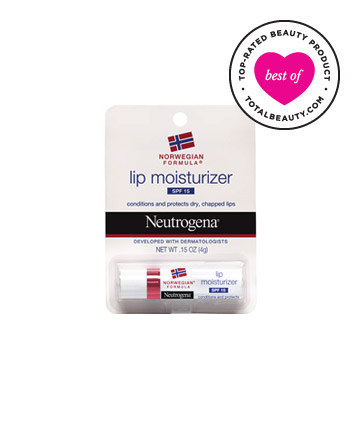 The Best: No. 12: Neutrogena Lip Moisturizer, $2.99