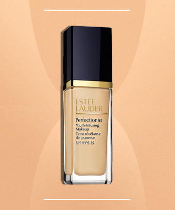 Dewy foundation for mature skin
