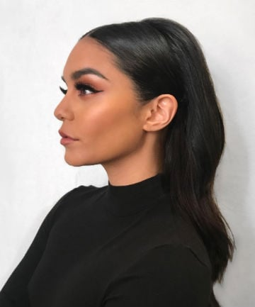 Look of the Day: Vanessa Hudgens' Sleek and Chic 'Do