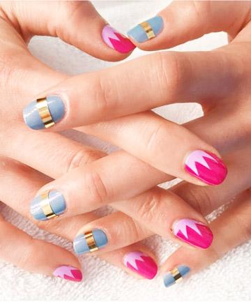 Pink and Blue Pop Art