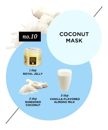 Homemade Face Mask No. 6: Face-Quenching Coconut Mask