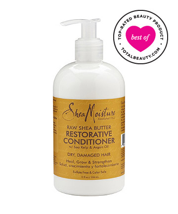 Best Natural Hair Deep Conditioner No. 1: Shea Moisture Raw Shea Butter Restorative Conditioner, $10.99
