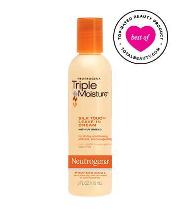 The Best: No. 11: Neutrogena Triple Moisture Silk Touch Leave-In Cream, $6.99