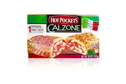 The Worst: Hot Pockets Calzone, Pepperoni and Three Cheese