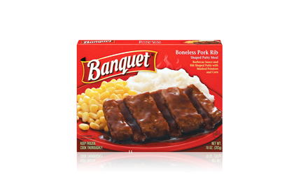 The Worst: Banquet Boneless Pork Rib (Shaped Patty Meal)