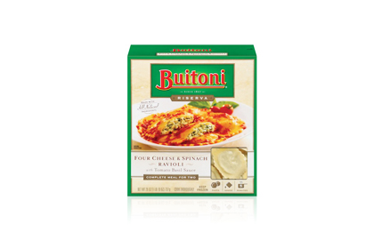 The Worst: Buitoni's Four Cheese Spinach Ravioli