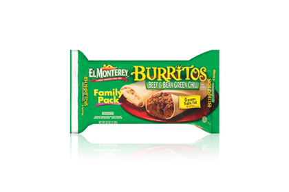 The Worst: El Monterey Beef & Bean Green Chili Burrito