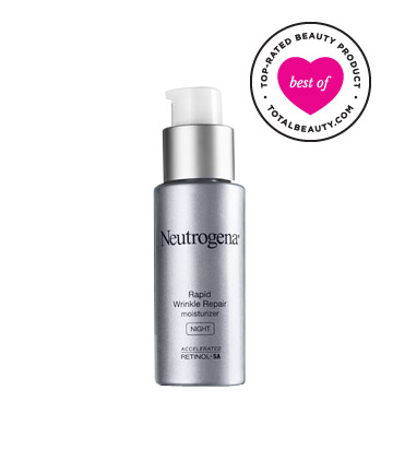 The Best: No. 10: Neutrogena Rapid Wrinkle Repair Night Moisturizer , $20.99